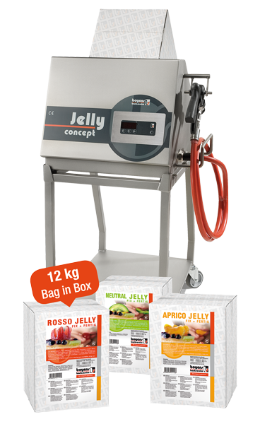 Jelly Concept Promotion-Aktion Boyens Backservice